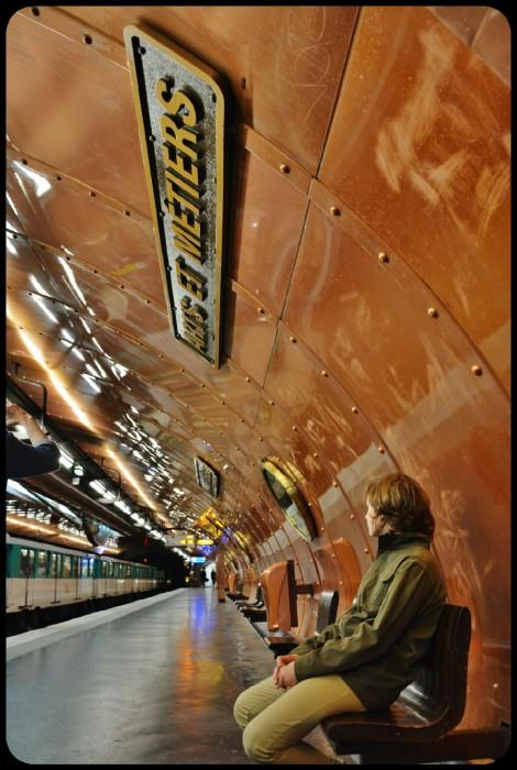 Station de métro Arts et Métiers 2015