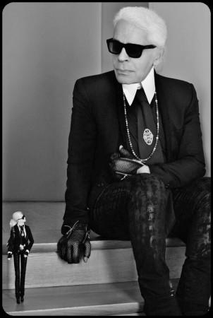 Karl Lagerfelf et Barbie 2014/barbaraeichert.com