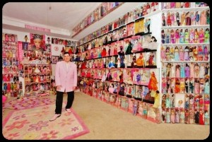 Collection de Barbie