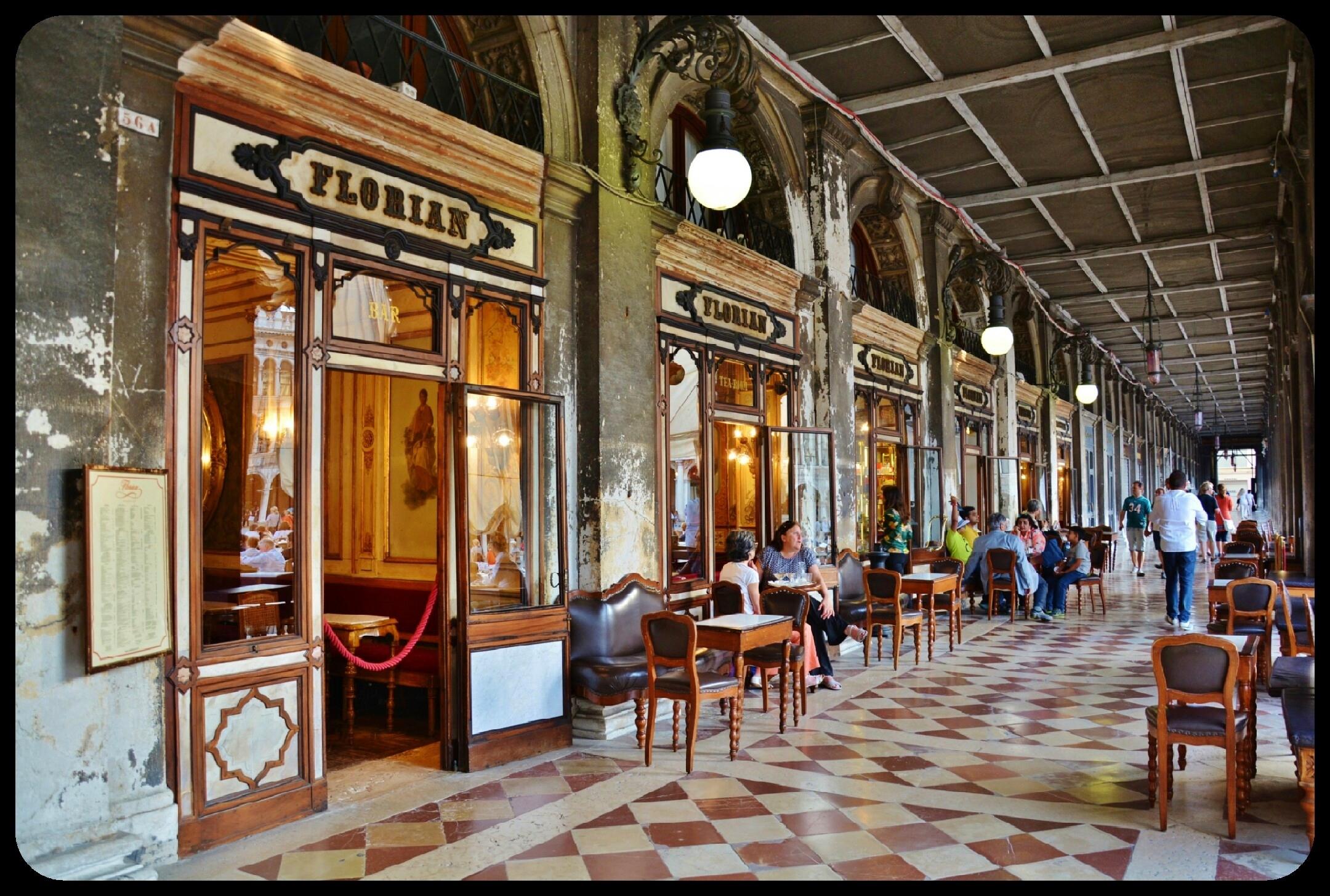 Cafe Florian Place Saint Marc Venise