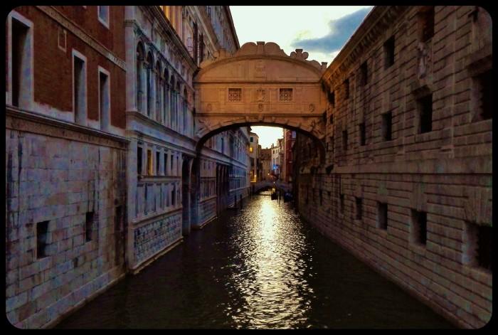 Le pont des soupirs / Venise 2016