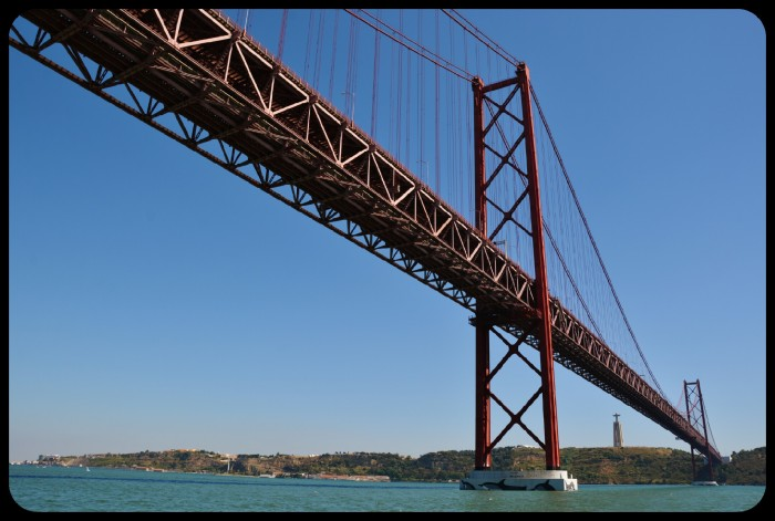 Pont du 25 avril /Lisbonne/Portugal 2016