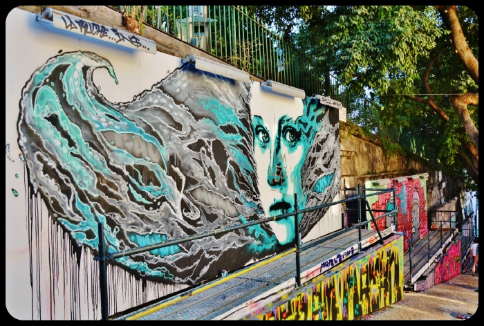 Lisbonne / Portugal 2016 ( artiste Skran & Fredy Klit )