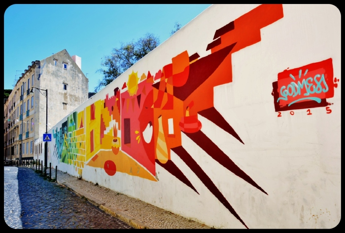 Lisbonne / Portugal 2016 ( artiste Godmess)