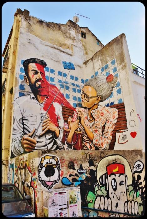 Lisbonne / Portugal 2016 (artiste Andrea Tarli)