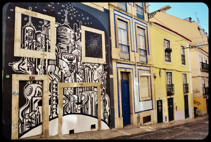 Lisbonne / Portugal 2016 (artiste Hibashira)