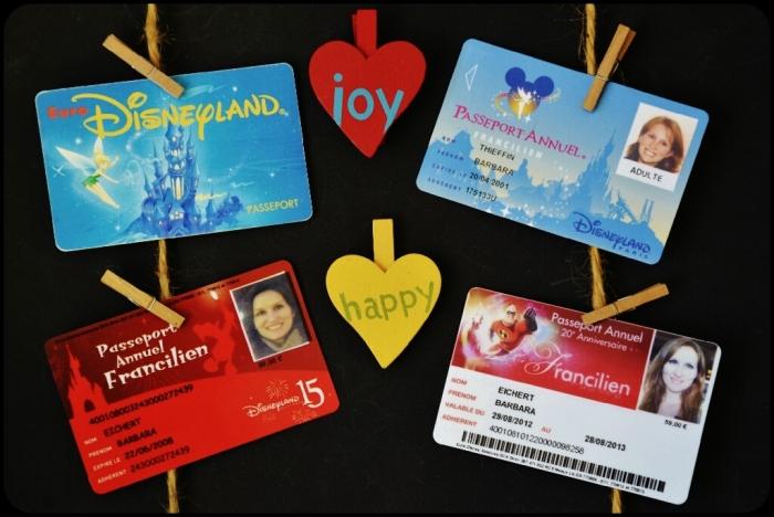 Passeports Parc Disneyland Paris