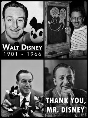 Walt Disney / 1901-1966
