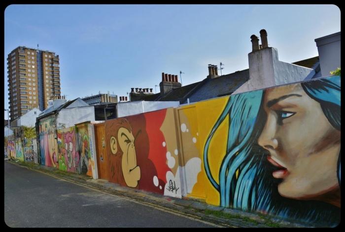 Brighton / UK 2017 Girl by Mazcan