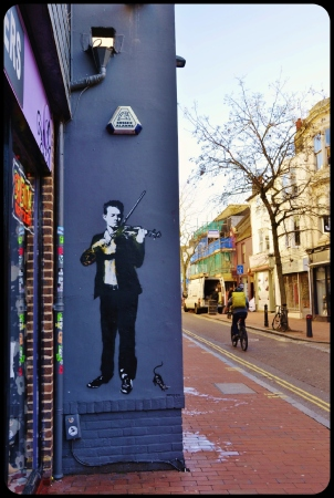 Brighton / UK avril 2017 BY BLEK LE RAT