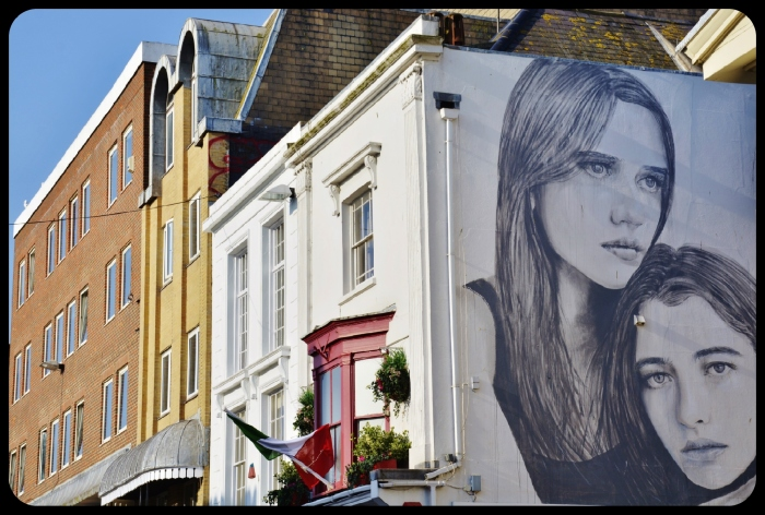 Brighton / avril 2017 BY RONE