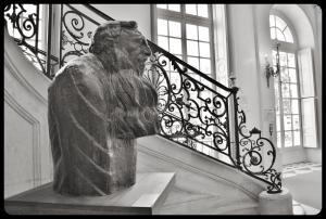 Le musée Rodin juin 2017 (Rodin par Antoine Bourdelle en 1910)