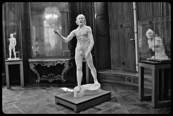 """Saint-Jean Baptiste"" bronze d'Auguste Rodin 1880"