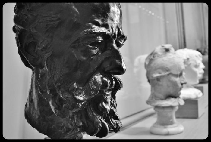 """""""Alphonse Legros"""" par Auguste Rodin"""