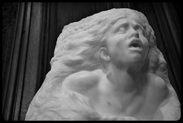 """""""La tempête"""" par Auguste Rodin en 1903"""
