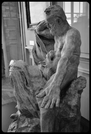 """""""Victor Hugo"""" par Auguste Rodin"""