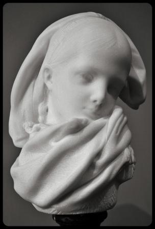 """""""Orpheline Alsacienne"""" 1871 par Auguste Rodin"""