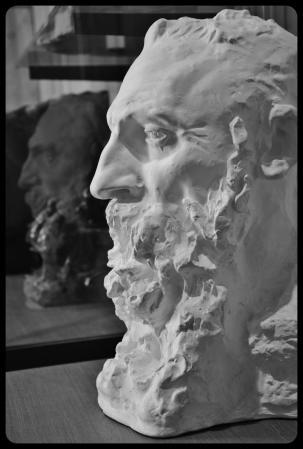 portrait d'Auguste Rodin par Camille Claudel en 1888