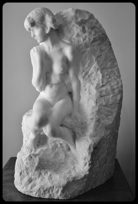 """Galatée"" par Auguste Rodin"