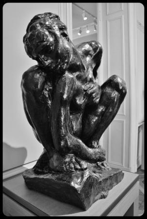 """""""La femme accroupie"""" d'Auguste Rodin"""
