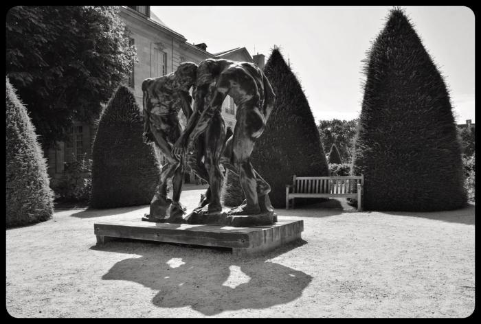 Les trois ombres, Auguste Rodin
