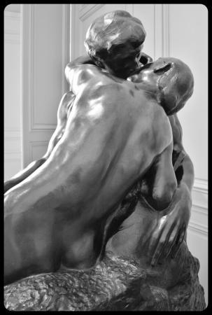 """""""Le baiser"""" d' Auguste Rodin"""
