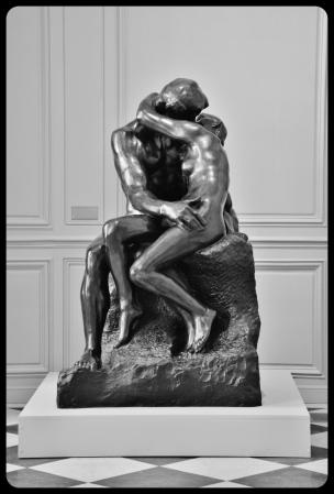 Le baiser. Auguste Rodin