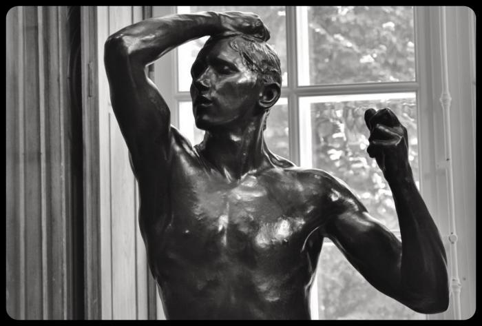 """""""l'âge d'airain"""" par Auguste Rodin"""