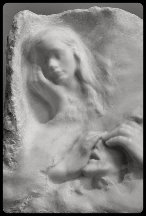 """""""Dernière vison"""" par Auguste Rodin 1902"""