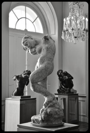 Musée Rodin, La Méditation ou la Voix Intérieure d'Auguste Rodin.