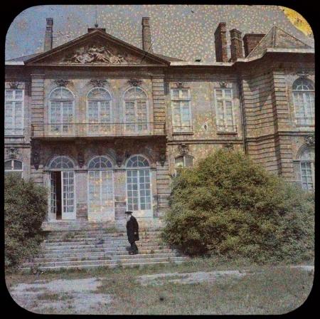 Auguste Rodin à l'hôtel Biron