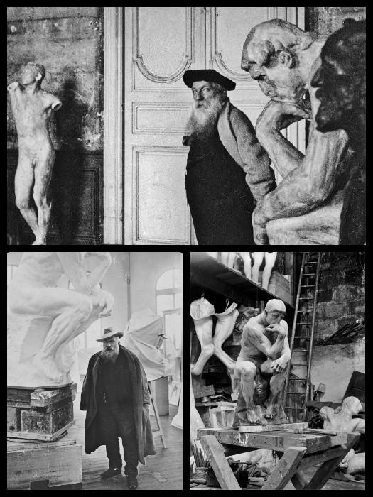 Rodin et le penseur