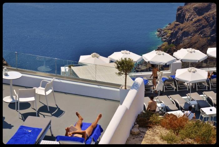 Grèce/ Santorin. Août 2017
