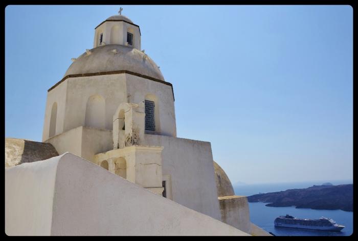 Agios Minas- Fira/Grèce 08.2017