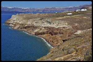 Phare d'Akrotiri. Grèce /Santorin 08.2017