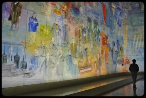 2017 Musée d'Art Moderne de la Ville de Paris/La Fée Electricité de Raoul Dufy 1937