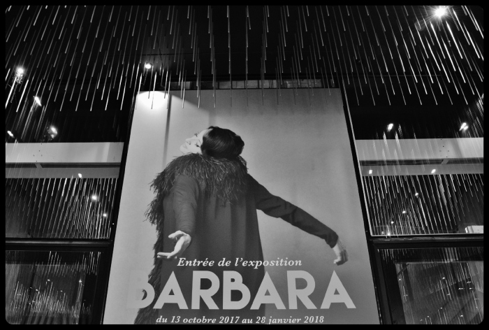 Expo Barbara à la Philharmonie de Paris 12.2017