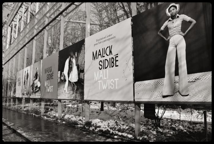 expo Malick Sidibé à la Fondation Cartier 2018