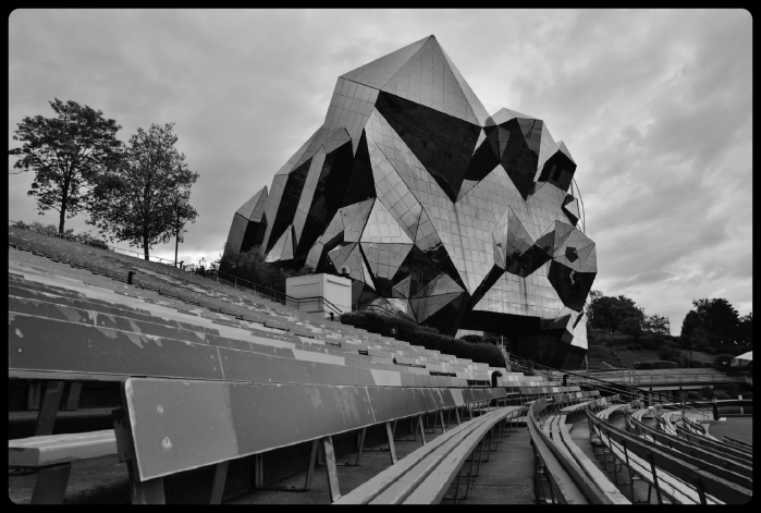 Parc du Futuroscope. avril 2018
